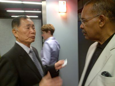 George Takei and Joe Madison