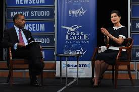 Joe madison and Luci Baines Johnson