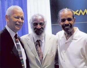 Julian Bond, Dick Gregory, Joe Madison
